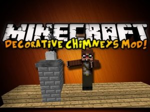 Скачать Decorative Chimneys Mod для Minecraft 1.4.6